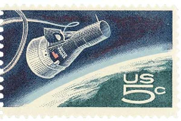 1967 5c Accomplishments in Space