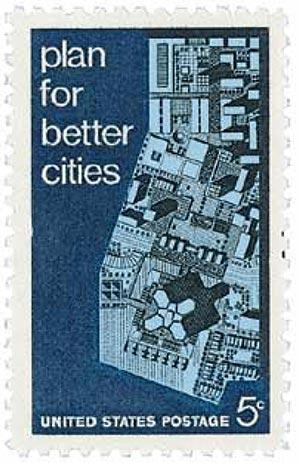 1967 Urban Planning stamp