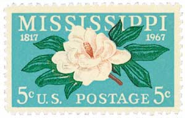 1967 5c Mississippi Statehood