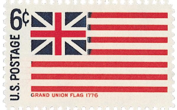 1968 6c Historic American Flags: Grand Union