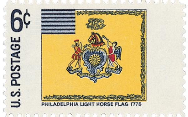 1968 Historic Flag Phila Light Horse 6c