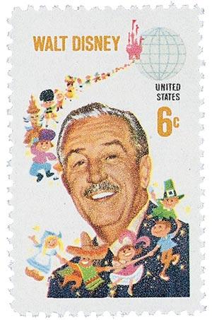 1968 6c Walt Disney