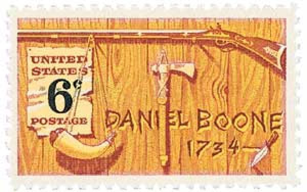 1968 6c Daniel Boone