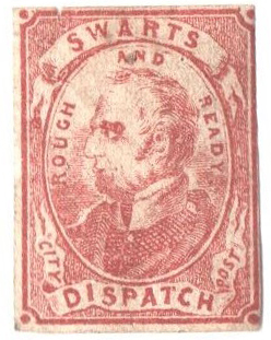 1849-53 (2c) red