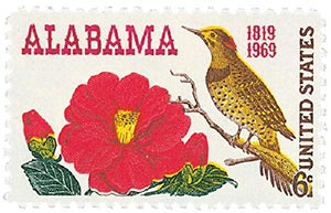 1969 6c Alabama Statehood