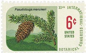 1969 6c Botanical Congress: Douglas Fir