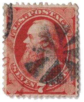 1871 7c Stanton, vermilion 'I Grill'