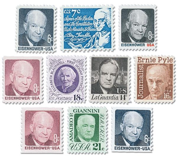 Complete Set, 1970-74 Prominent American Series