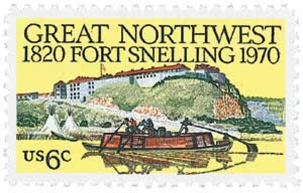 1970 6c Fort Snelling