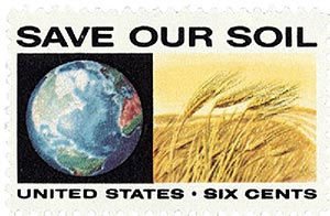 1970 6c Anti-Pollution: Save Our Soil