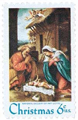 1970 6c Traditional Christmas: Nativity