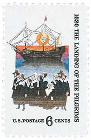1970 6c The Landing of the Pilgrims
