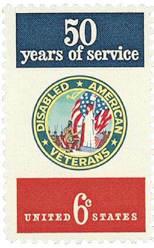1970 6c Disabled American Veterans