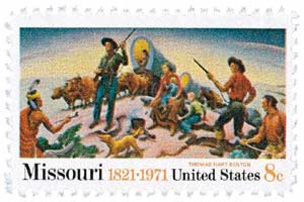 1971 Missouri Statehood stamp