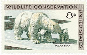 1971 8c Wildlife Conservation: Polar Bear