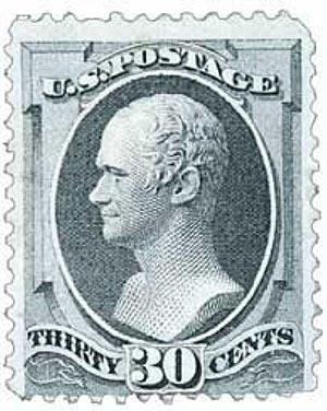 1870 30c Hamilton