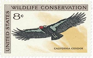 1971 8c Wildlife Conservation: California Condor