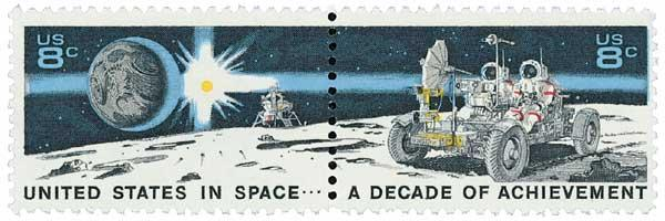 1971 8c Space Achievements