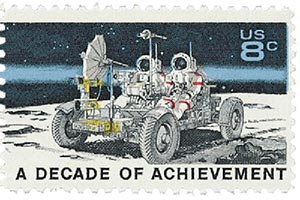 1971 8c Space Achievements: Lunar Rover