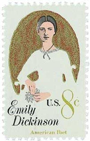 1971 8c Emily Dickinson