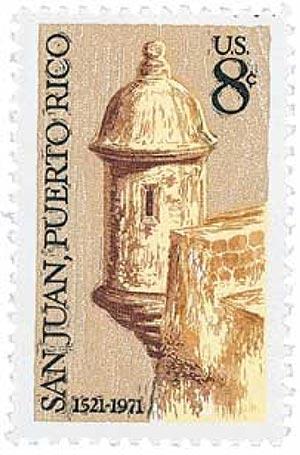 1971 8c San Juan