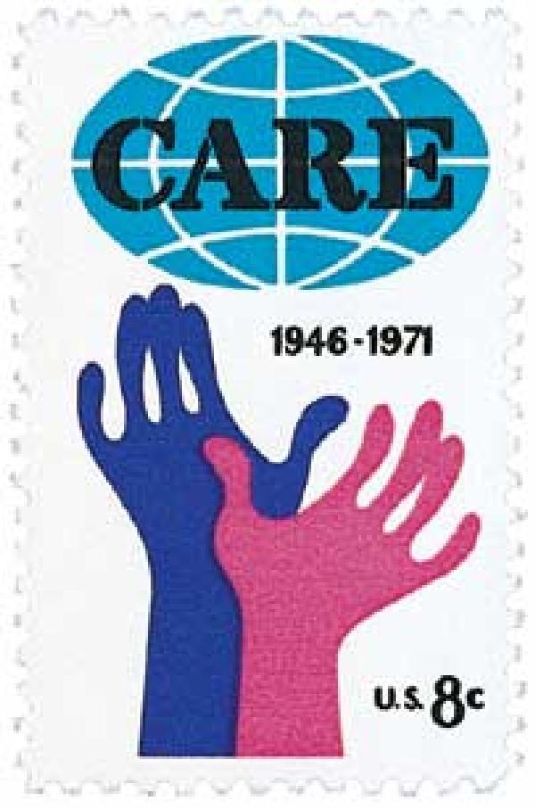 1971 8c CARE