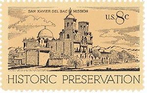 1971 8c Historic Preservation