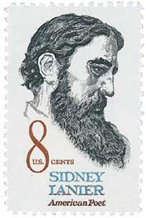 1972 8c Sidney Lanier