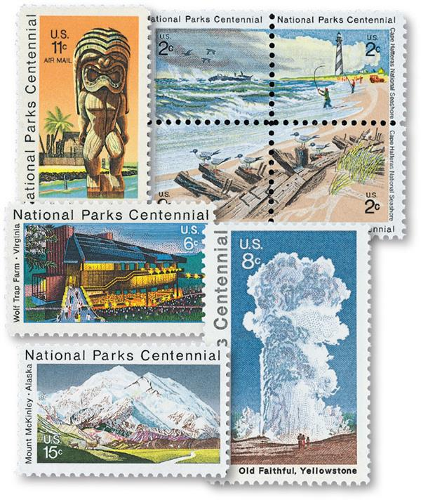 Complete Set, 1972 National Park Centennial