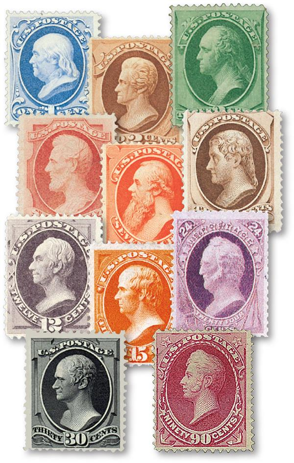 Complete Set, 1870-71 National Bank Note Printing