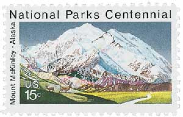 Mount McKinley stamp