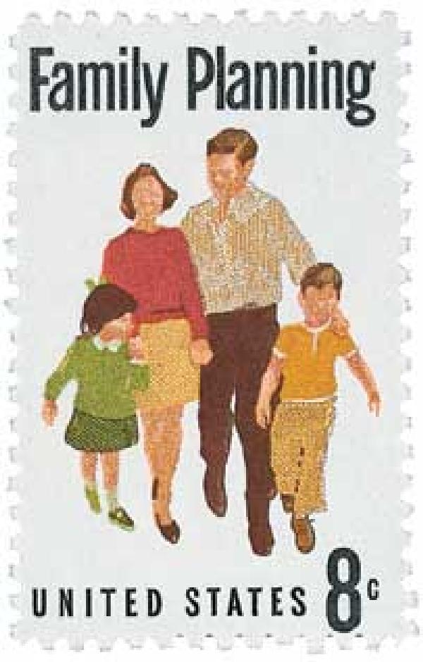 1972 8c Family Planning