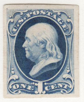 1870-71 1c ultra, plate on India