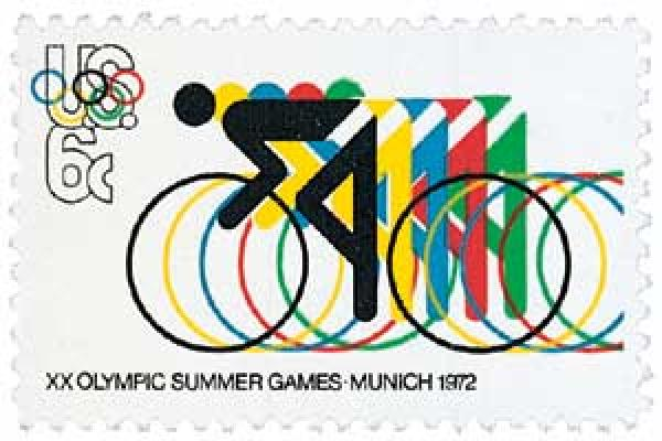 1972 6c 20th Summer Olympic Games