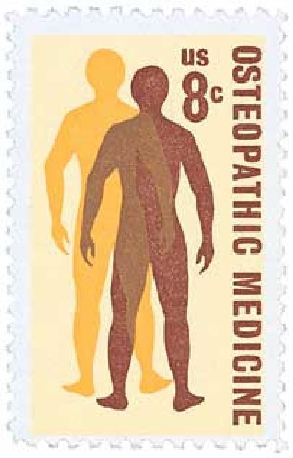 1972 8c Osteopathic Medicine