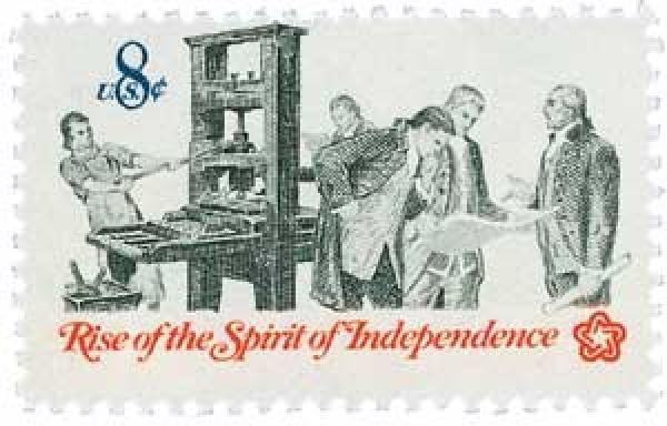 1973 8c Pamphlet Printing