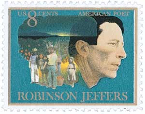 1973 8c Robinson Jeffers