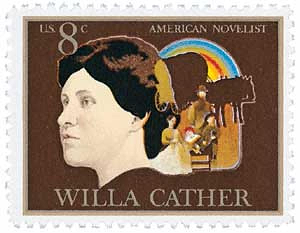 1973 8c Willa Cather