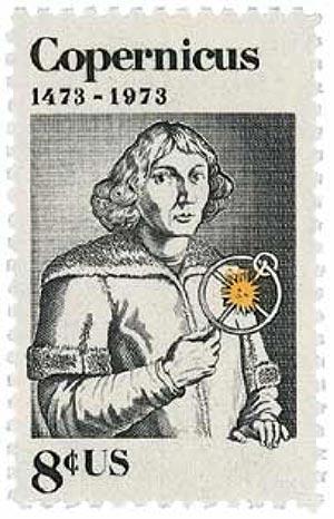 1973 8c Nicolaus Copernicus