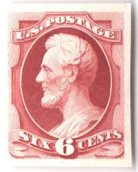 1870-71 6c carmine, plate on India