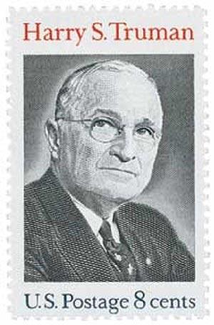 1973 8c Harry S. Truman - 33rd President