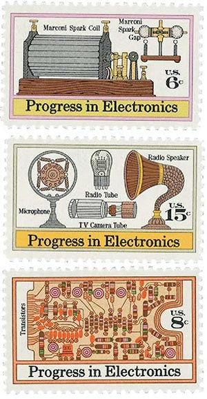 Complete Set, 1973 Electronics Progress 3V