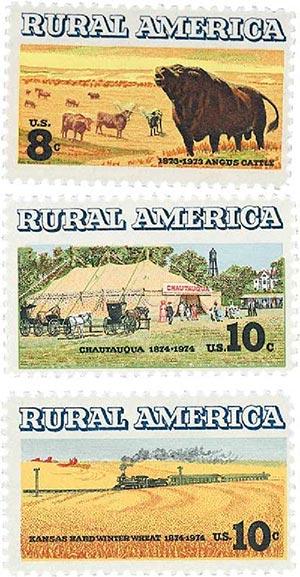Complete Set, 1973-74 Rural America 3V