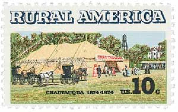 1974 10c Chautauqua Tent Centennial