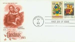 1973 8c Christmas