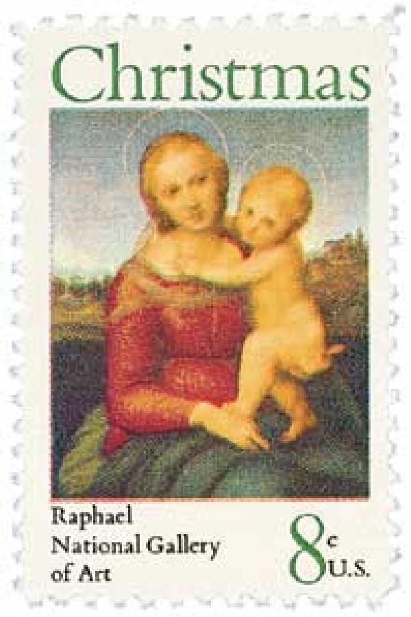1973 8c Christmas Madonna