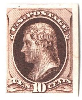 1870-71 10c brown