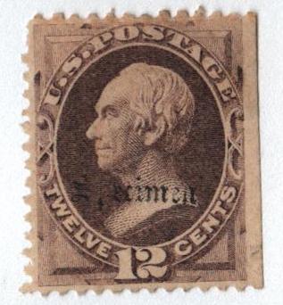 1870-71 12c dull violet