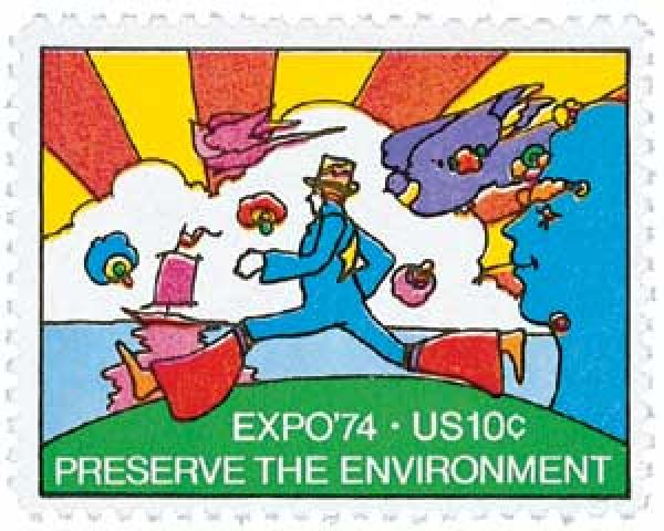 1974 10c EXPO 74, Preserve the Environment