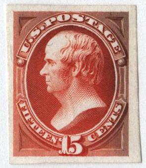 1870-71 15c orange, on India paper